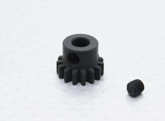 15T/5mm 32 Pitch Hardened Steel Pinion Gear