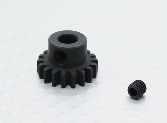 18T/5mm 32 Pitch Hardened Steel Pinion Gear