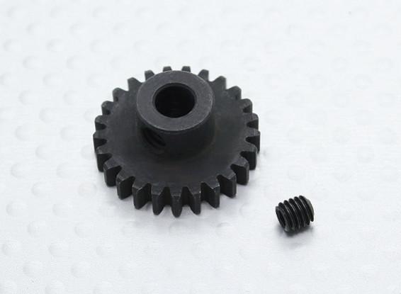 25T/5mm 32 Pitch Hardened Steel Pinion Gear