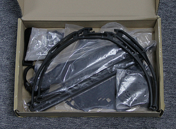 SCRATCH/DENT Hobbyking S650 Glass Fiber Hexcopter Frame 655mm
