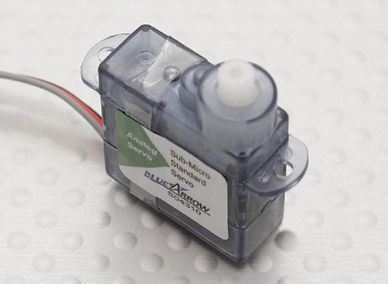 Blue Arrow Micro Servo 20T 0.8kg / 0.12sec / 4.3g
