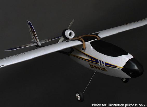 HobbyKing® ™ Breeze Glider w/Optional Flaps EPO 1400mm w/Motor (ARF)