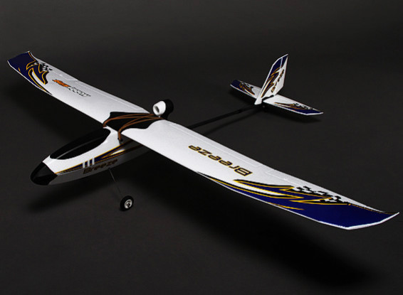 HobbyKing® ™ Breeze Glider w/Optional Flaps EPO 1400mm (KIT)