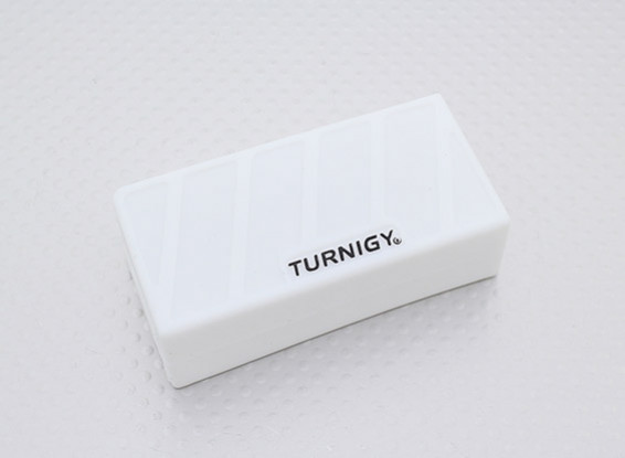 Turnigy Soft Silicone Lipo Battery Protector (1000-1300mAh 3S White) 74x36x21mm