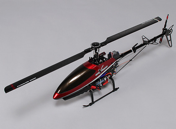 Walkera V450D01 FPV Flybarless Helicopter with 6- Axis Gyro and Devo F7 (RTF)