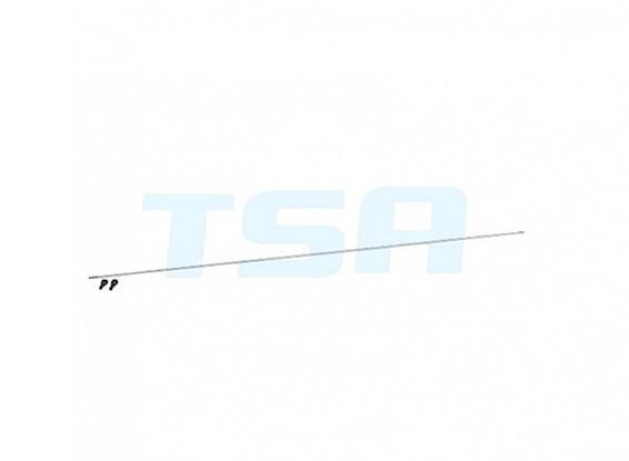 TSA Infusion 700E Pro, 700N PRO - Tail Control Push Rod Set