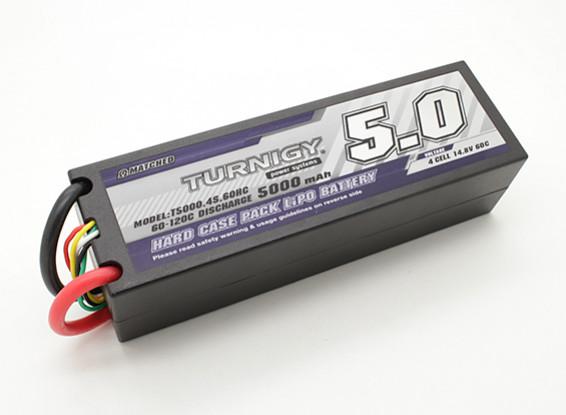 Turnigy 5000mAh 4S 14.8V 60C Hardcase Pack