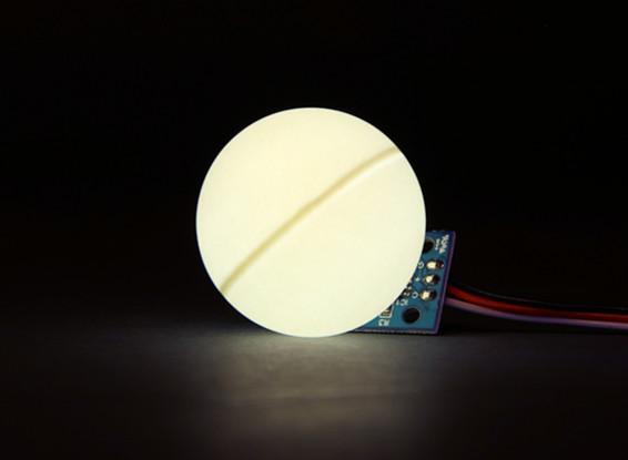 LED PCB Strobe White 3.3~6.0V with Ball Diffuser