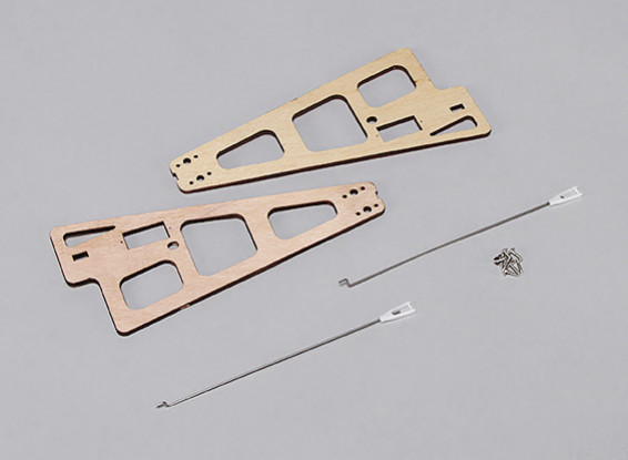 Durafly™ Auto-G2 Gyrocopter 821mm - Replacement Wood Supports w/Linkage Rods