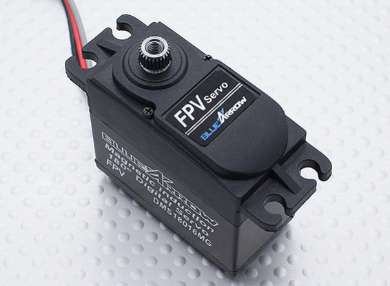 DMS18016MG 180-degree Travel FPV Servo 25T 9.60kg / 0.07sec / 60g