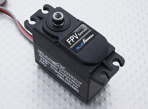 Blue Arrow 33016MG 330-Degree Travel FPV Servo 25T 9.50kg / 0.07sec / 60g