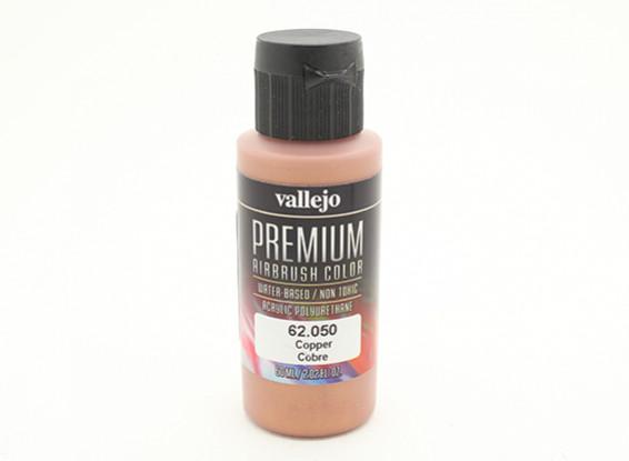 Vallejo Premium Color Acrylic Paint - Copper (60ml) 62.050