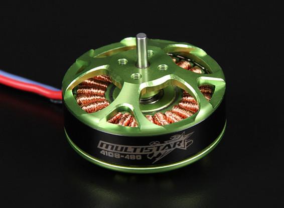 4108-480KV Turnigy Multistar 22 Pole Brushless Multi-Rotor Motor With Extra Long Leads
