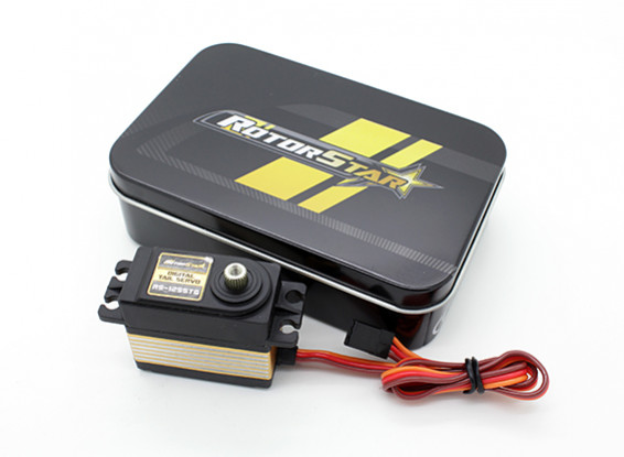 RotorStar RS-1255TG Digital Helicopter Tail Servo 5.5kg / 0.06sec / 57g