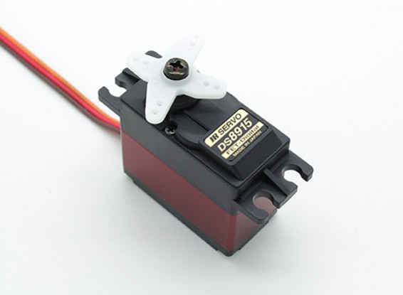 JR DS8915 High Torque Digital Servo with Metal Gears and Heatsink