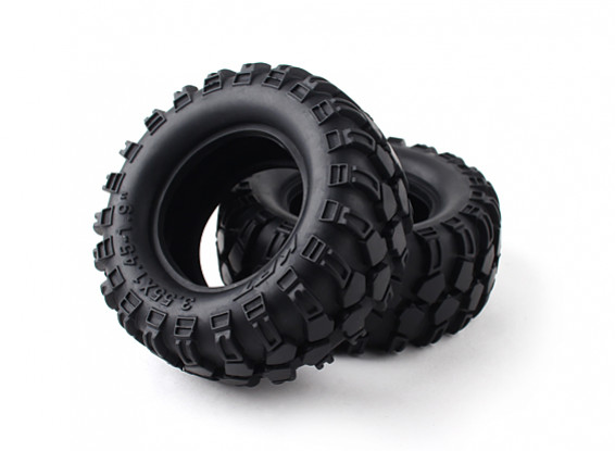 """1/10 Scale 1.9"""" Crawler Tire/KRT Hollow with insert (2pcs)"""