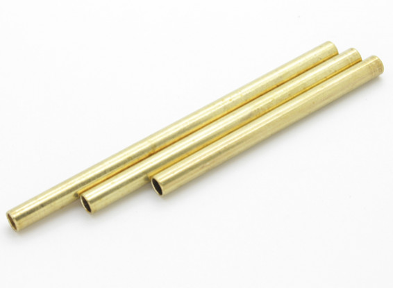 Brass Fuel Tank Tubing 3pc
