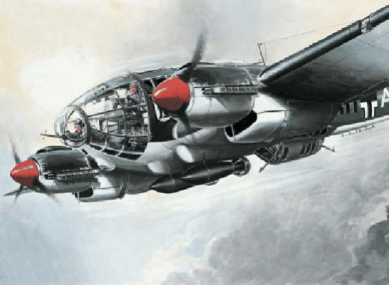 Italeri 1/72 Scale Heinkel He 111 H-6 Plastic Model Kit