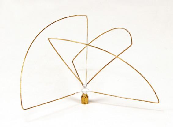 Circular Polarized 900MHz Transmitter Antenna (SMA) (LHCP) (Short)