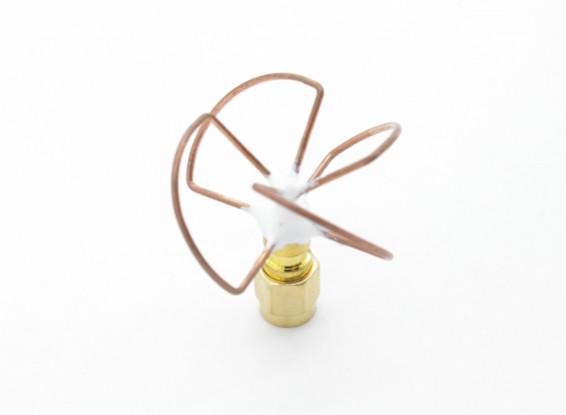 5.8GHz Circular Polarized Antenna SMA Receiver Only (Short)