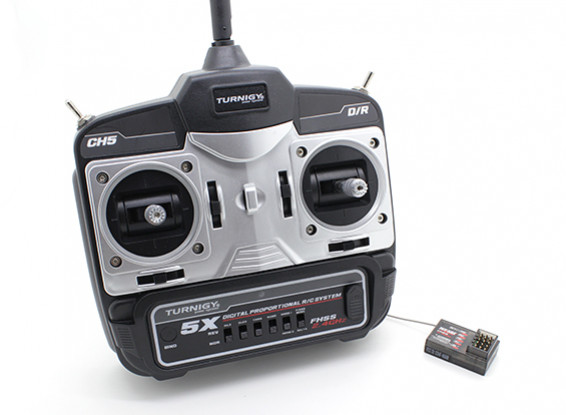 Turnigy 5X Mode 2 5Ch Mini Transmitter and Receiver