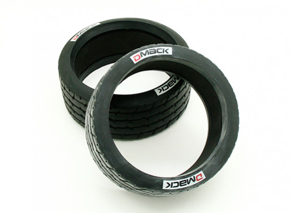 Line Pattern Tires with Sponge (2pcs) - BSR Racing 1/8 Rally