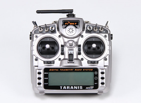 FrSky 2.4GHz ACCST TARANIS X9D Digital Telemetry Radio System (Mode 1)