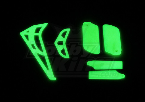 HK-450 Glowing Tail and Light Set (Align part # HS1275)