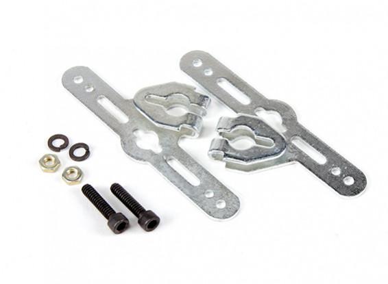 Sullivan 1/4inch Adjustable Wheel Pant Mounting Brackets (1 set)