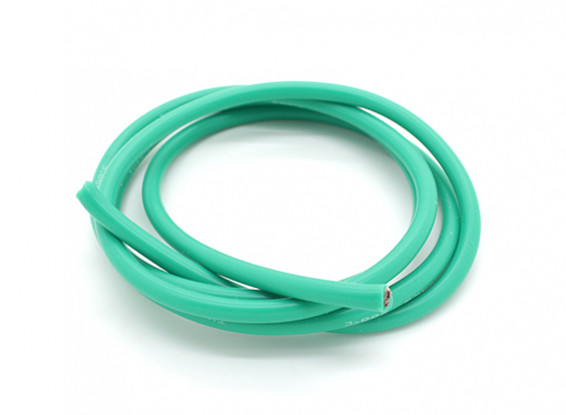 Turnigy Pure-Silicone Wire 12AWG 1m (Green)