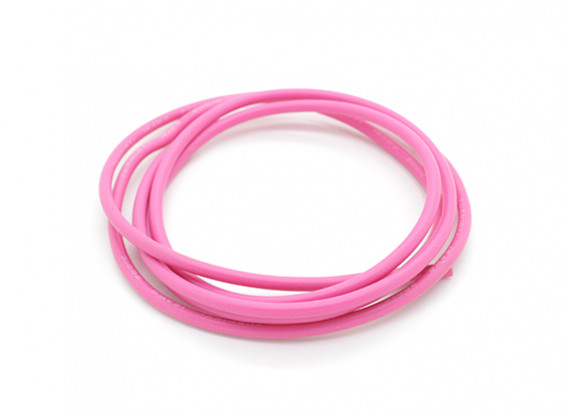 Turnigy Pure-Silicone Wire 16AWG 1m (Pink)