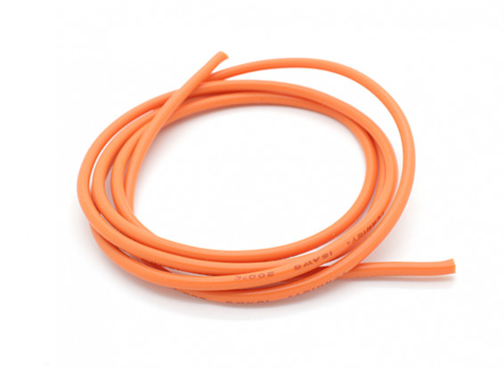 Turnigy Pure-Silicone Wire 16AWG 1m (Orange)
