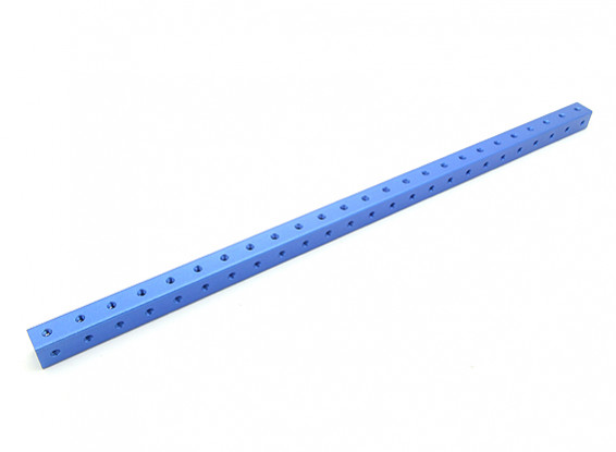 RotorBits Pre-Drilled Anodized Aluminum Construction Profile 250mm (Blue)