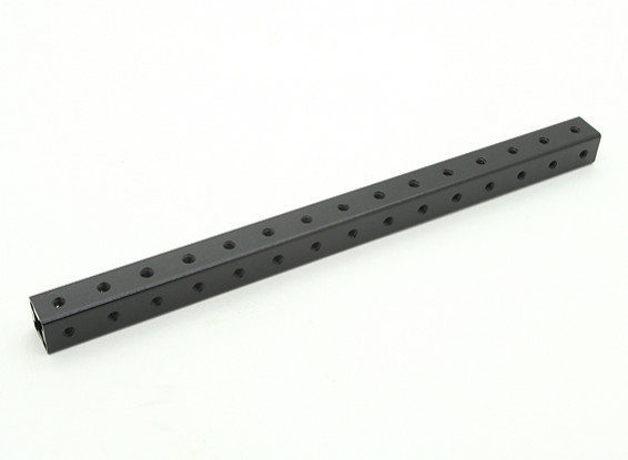RotorBits Pre-Drilled Anodized Aluminum Construction Profile 150mm (Black)
