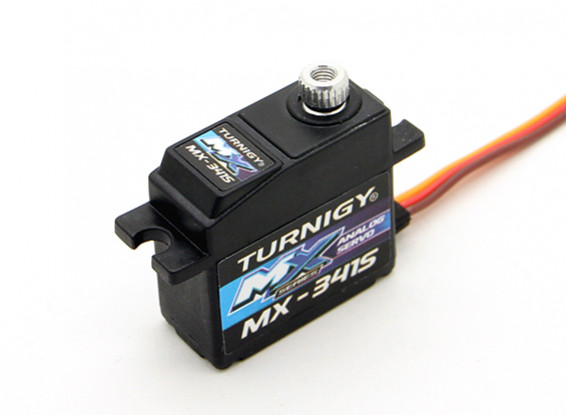 Turnigy™ MX-341S  Mini MG Servo 3kg / 0.12sec / 19g