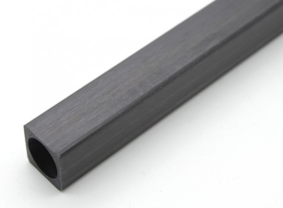 Carbon Fiber Square Tube 10 x 10 x 150mm