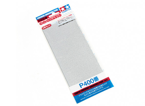 Tamiya Finishing Wet/Dry Sandpaper P400 Grade (3pc)