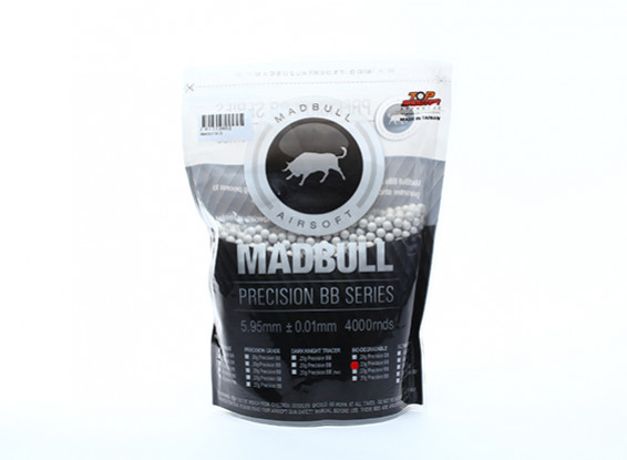 Madbull Precision 0.25g Bio-Degradable BB 4000rds Bag