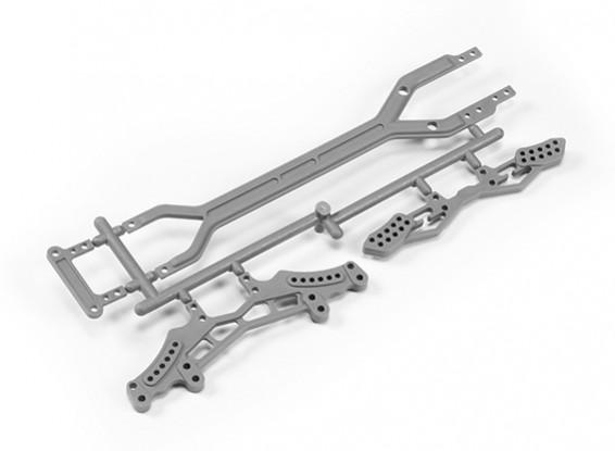 Shock Plates(F/R)/ Second Floor Plates - The Devil 1/10 4WD Drift Car