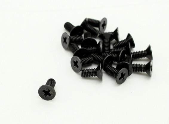 RotorBits M2.5 x 6 mm Countersunk Screws (20pcs)