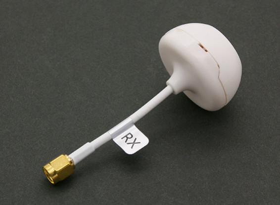 5.8GHz Circular Polarized Antenna with Cover for Receiver (SMA) (RHCP)