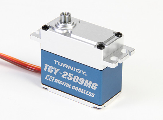 Turnigy™ TGY-DS2509MG High Torque Coreles HV/DS/MG Servo w/Alloy Case 28kg / 0.10sec / 78g