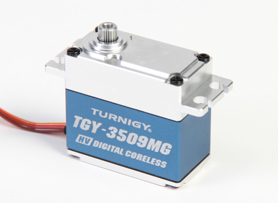 Turnigy™ TGY-DS3509MG High Torque BB/DS/MG w/Alloy Case 40kg / 0.12sec / 78g