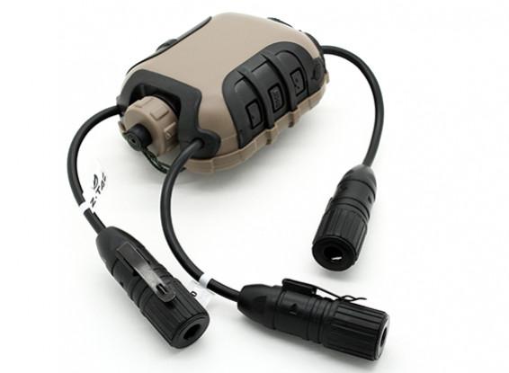 Z Tactical Z118 Z4OPS Classic PTT (Dark Earth, Lite Edition Ver)