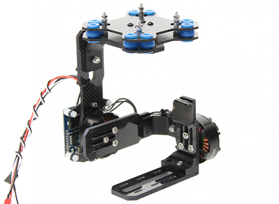 Quanum Mid-Size Brushless Gimbal 4mm Carbon Construction