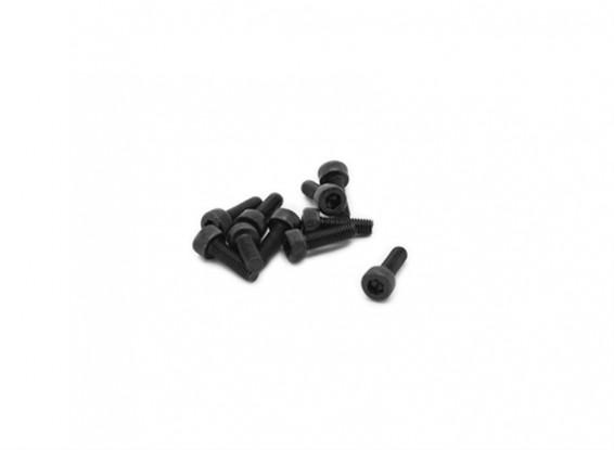 RJX X-TRON 500 M3 x 8mm Socket Head Screws # XT90-9040 (20pcs)