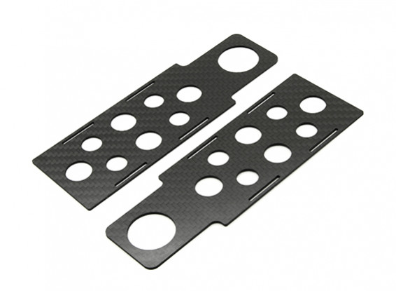 RJX X-TRON 500 Battery Tray  # X500-61110 (2pcs)