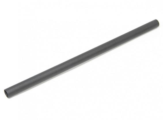 20 x 18 x 420mm Carbon Fibre Tube (3K) Plain Weave Matt Finish