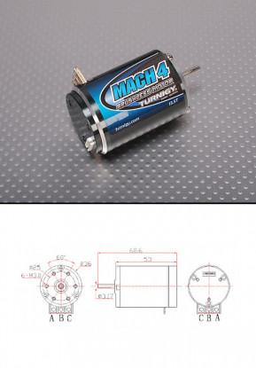 Turnigy Mach2 13.5T Brushless R/C Car Motor w/timing adjust 2550Kv
