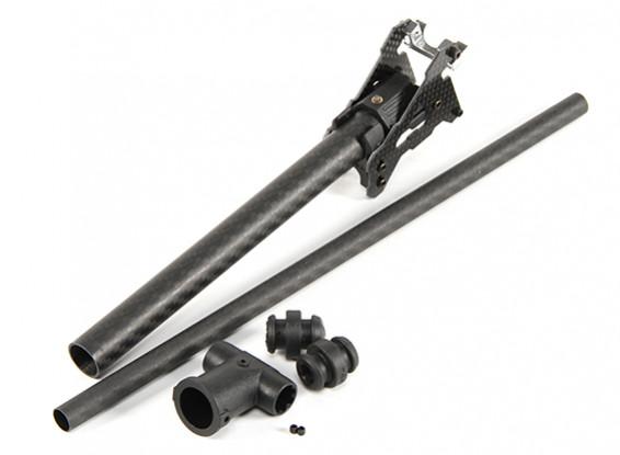 Tarot 680PRO HexaCopter Carbon Fiber Upgrade Folding Leg and Foot Assembaly (1pc)